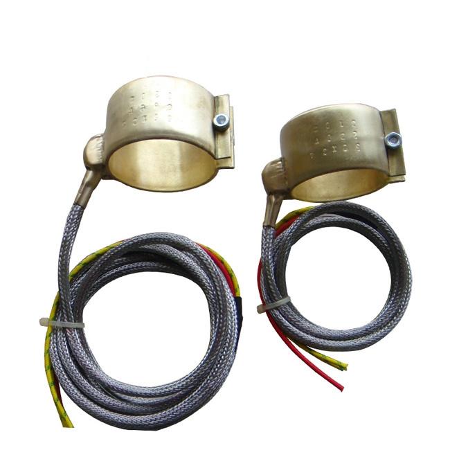 Brass band heater