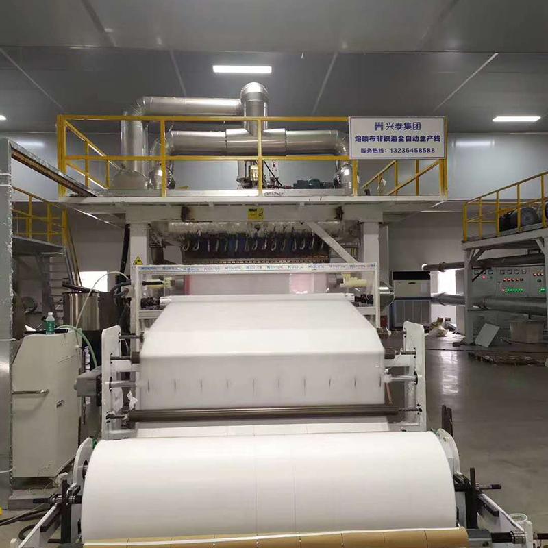 Meltblown fabric machine