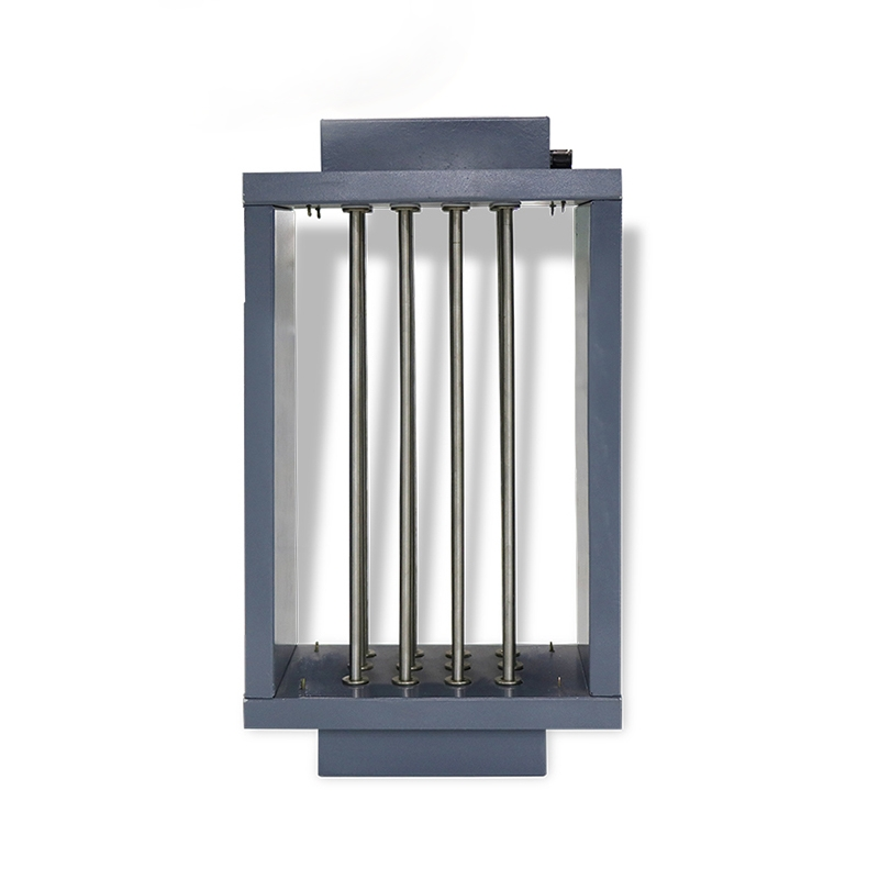Duct type hot air heater