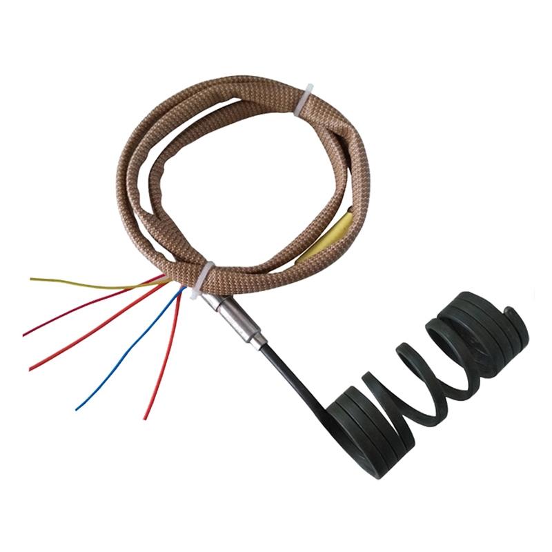 Electric hot runner coil heater